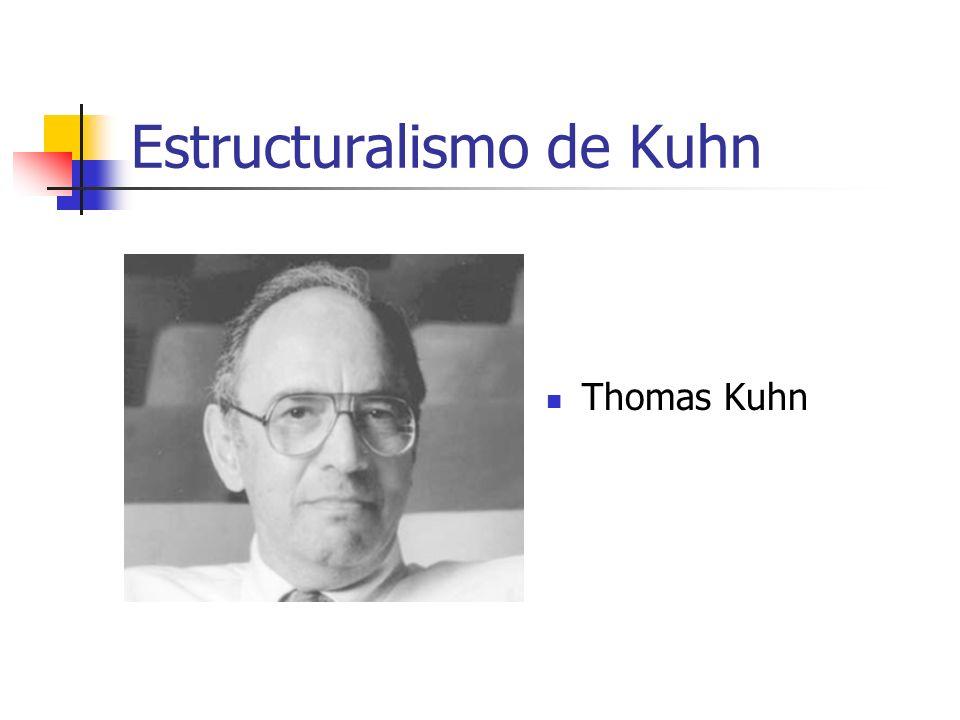 Estructuralismo de Kuhn Thomas Kuhn