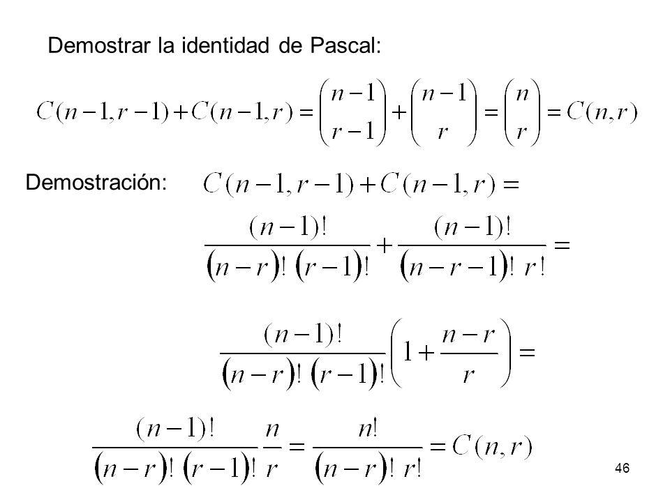 45 Identidad de Pascal