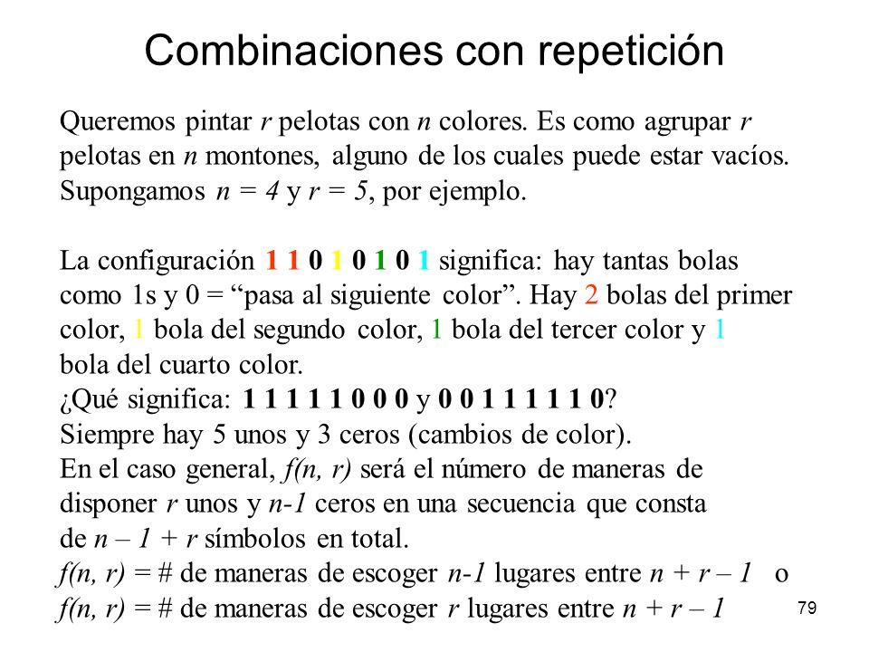 78 Generalización del binomio de Newton Vamos a encontrar una fórmula similar a la del binomio de Newton para (a + b + c) n. Aplicando la propiedad di