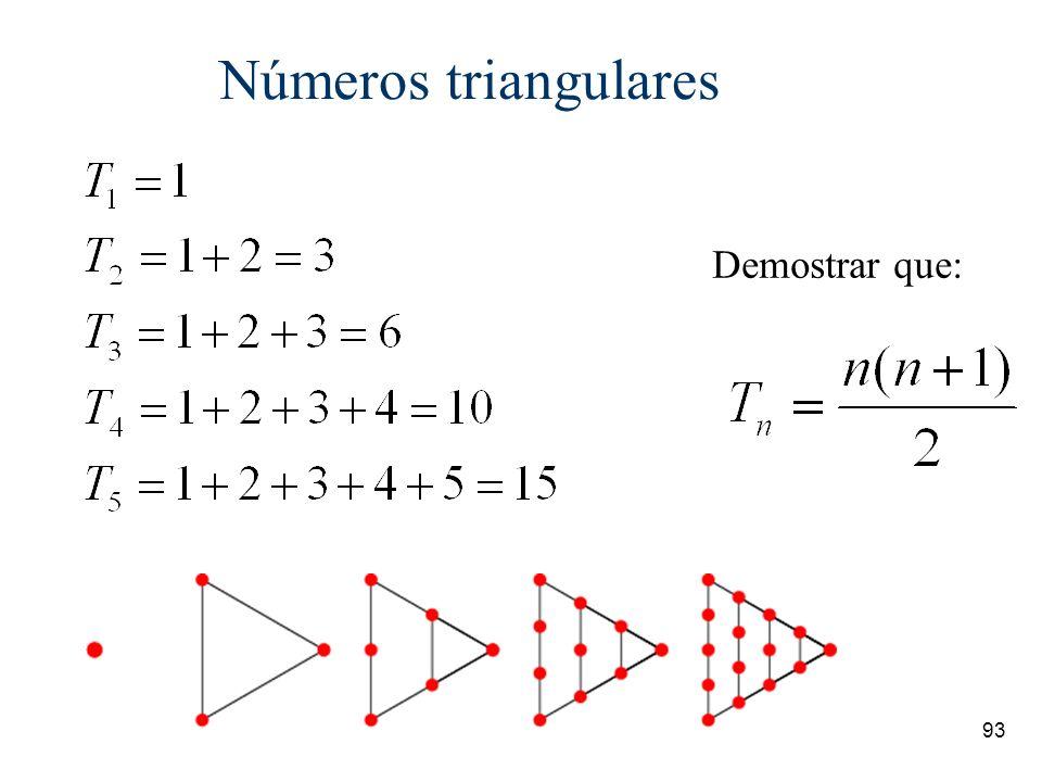 92 Sucesiones ¿Cuál es la continuación de las siguientes sucesiones infinitas? 1, 2, 4, 8, 16, 32, … 1, 4, 9, 16, 25, 36,... 1, 1, 2, 3, 5, 8, 13,...