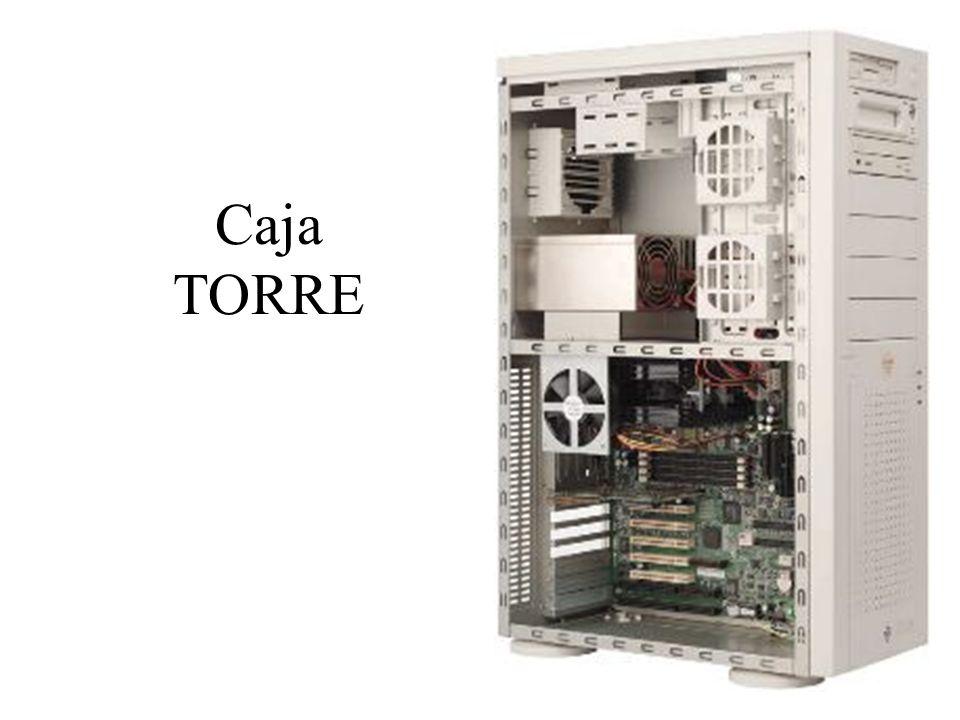 Tipo de Caja BAREBONE Formato compacto Sólo una bahía para dispositivos CD/DVD Orientado al mercado doméstico Prima el diseño y la economía de espacio frente a las prestaciones.