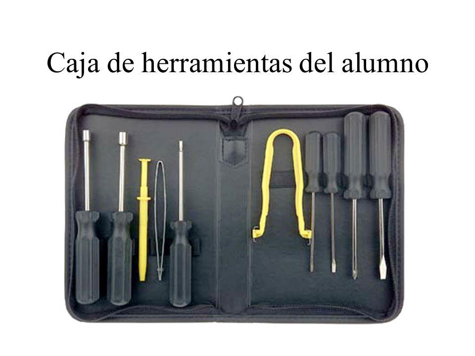 Caja de herramientas del alumno: Destornilladores de vaso