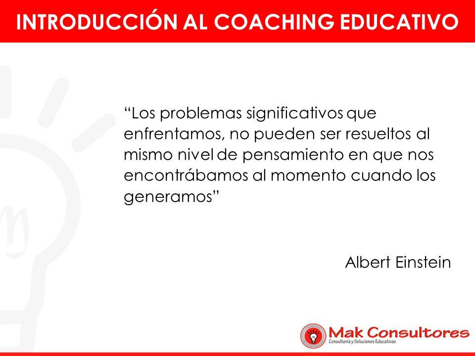 5.Es importante que el tutor que actúa como coach tenga conocimientos de la labor investigativa y de los posibles cursos de acción que pudiera sugerir a los coachee, de acuerdo a la necesidad de cada uno de ellos.