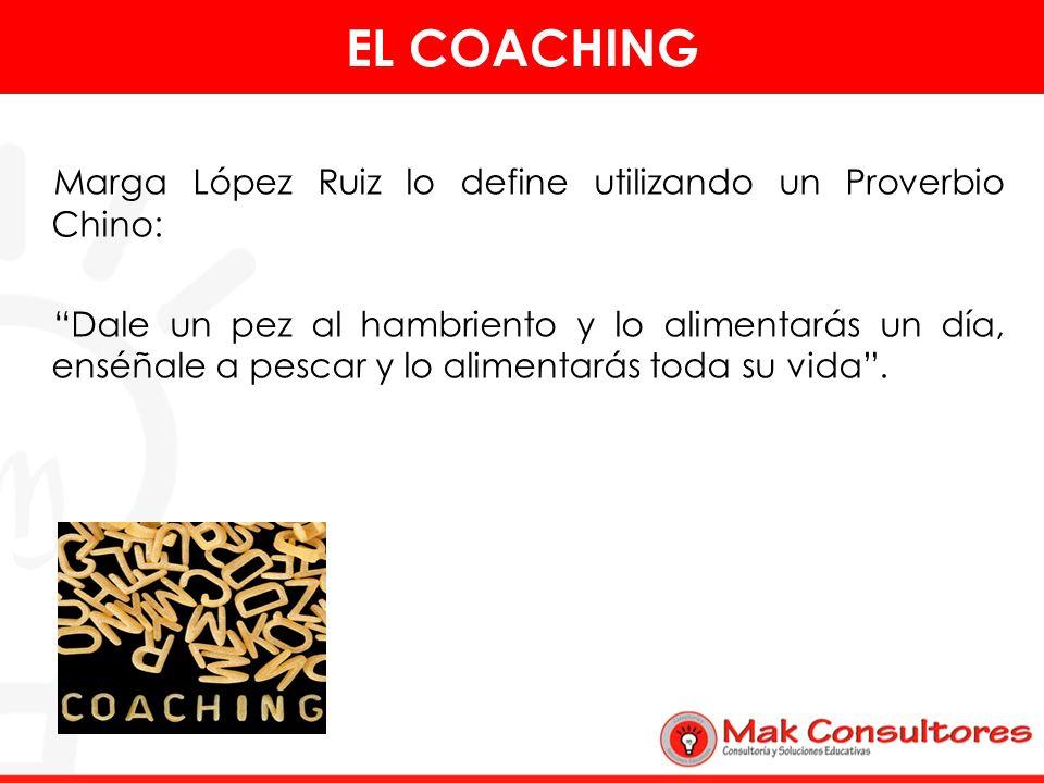 En todo coaching existen dos personas básicamente el coachee y el coach.