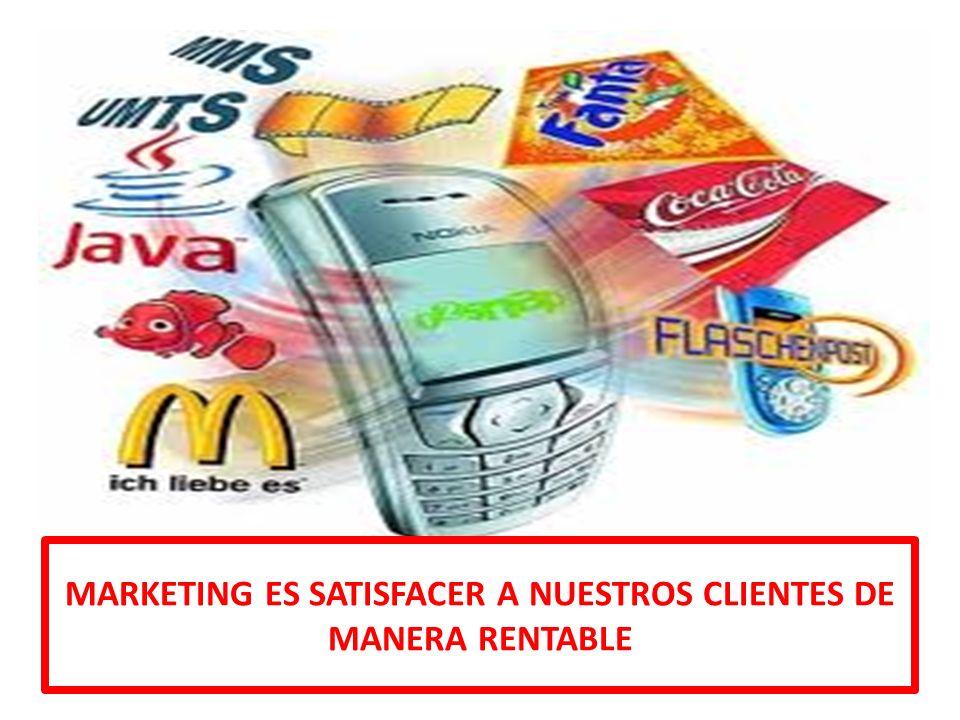 II. Los elementos del Marketing: MKT ESTRATEGICO Y OPERATIVO