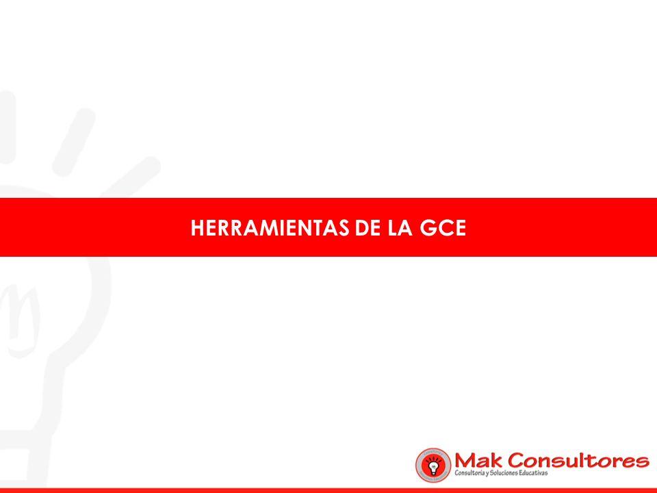 HERRAMIENTAS DE LA GCE
