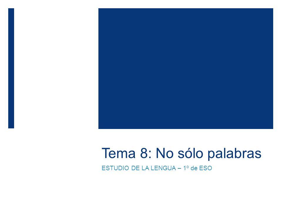 Lengua castellana y literatura- 1º ESO 12 Polvo eres...