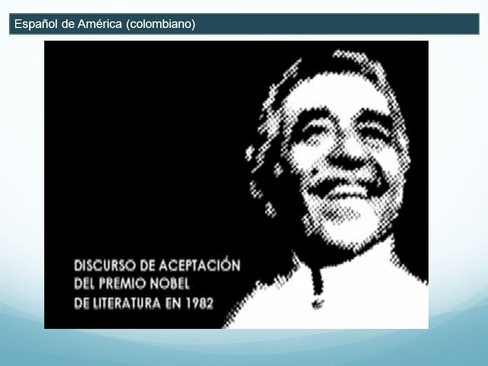 Español de América (colombiano)