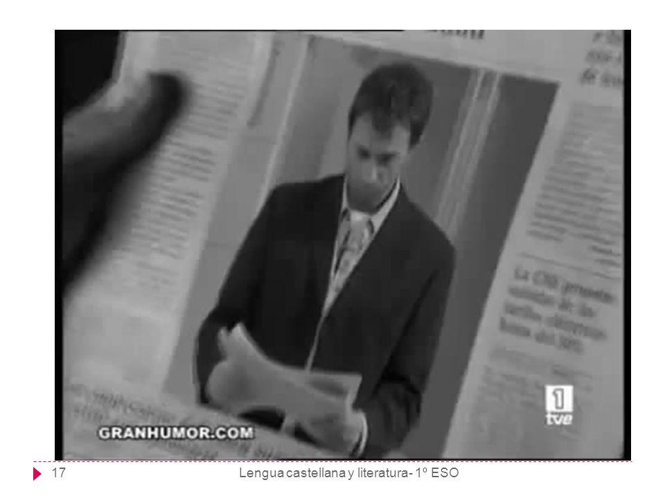 Lengua castellana y literatura- 1º ESO17