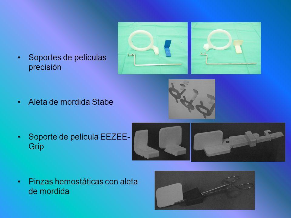 Soportes de películas precisión Aleta de mordida Stabe Soporte de película EEZEE- Grip Pinzas hemostáticas con aleta de mordida