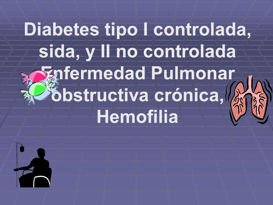 Hipertensos (160-189/95-110), Angina de Pecho estable, Infarto al miocardio asintomáticos (después de 6 meses), Insuficiencia cardíaca congestiva leve