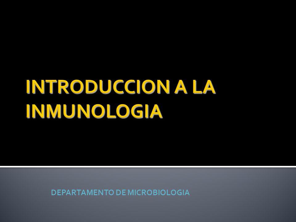 DEPARTAMENTO DE MICROBIOLOGIA