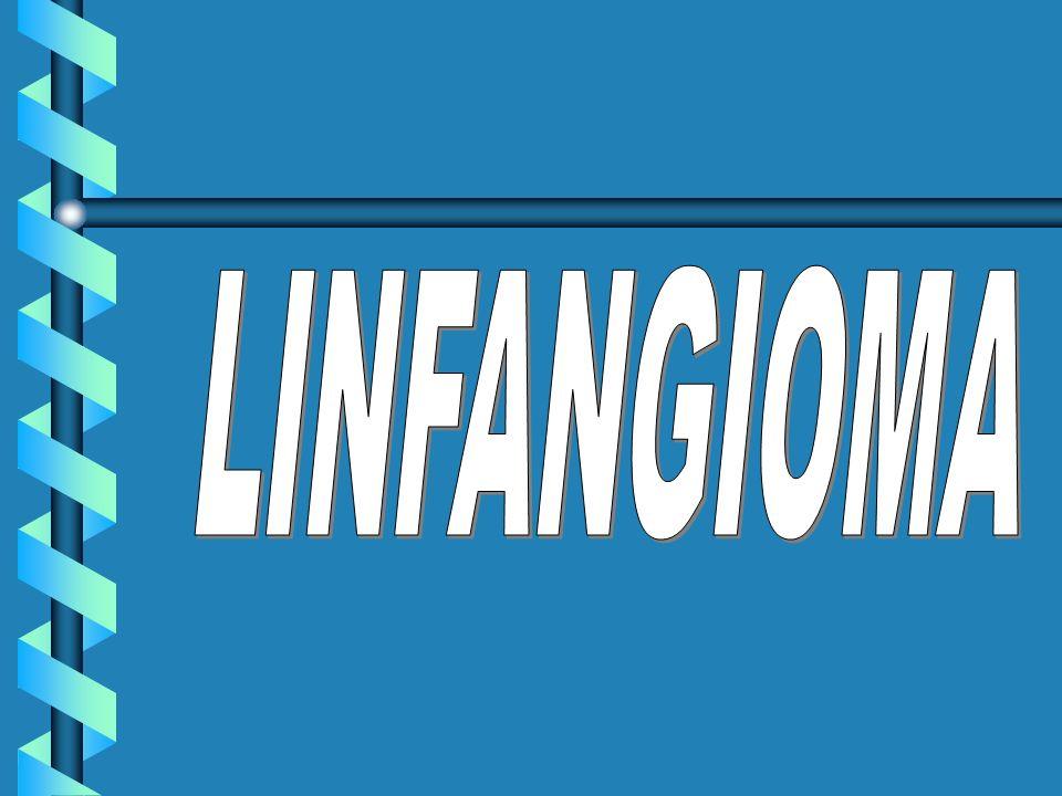 Más grande por el Linfangioma