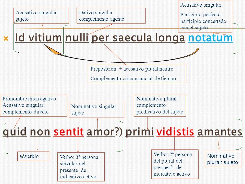 et vocis fecistis iter, tutaeque per illud murmure blanditiae minimo transire solebant..