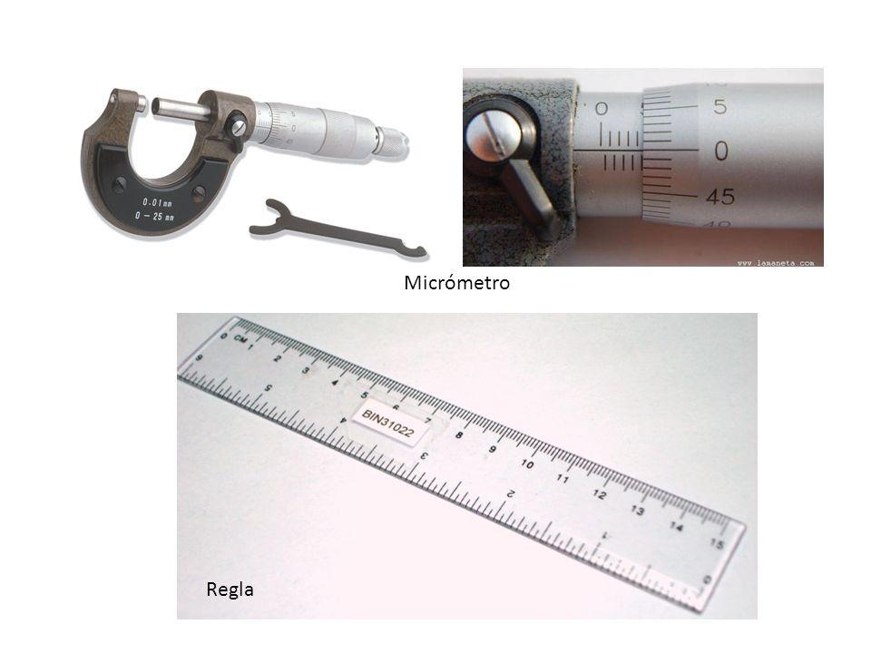 Micrómetro Regla
