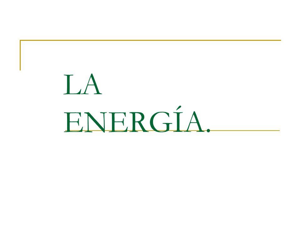 LA ENERGÍA.