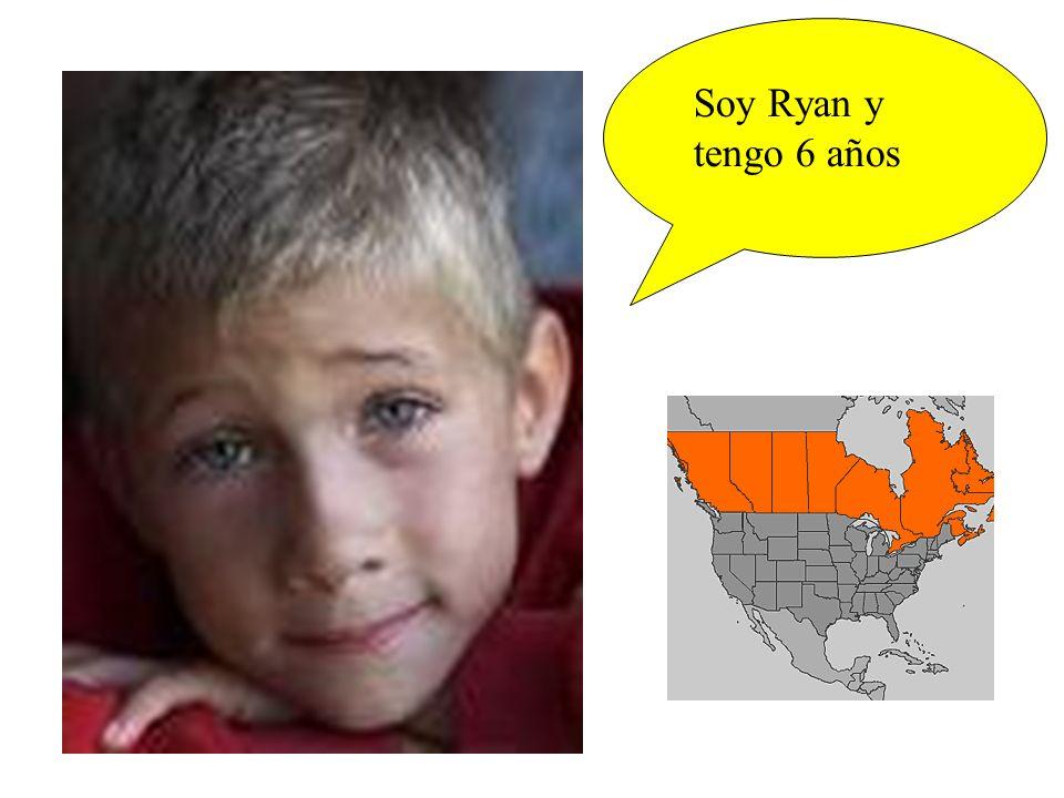 Soy Ryan y tengo 6 años