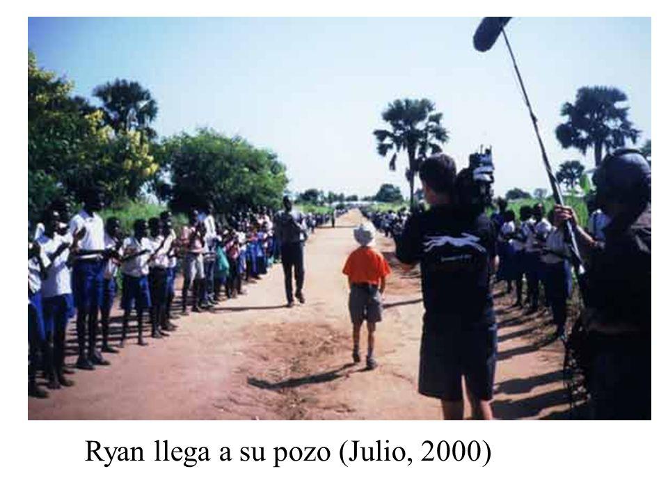 Ryan llega a su pozo (Julio, 2000)