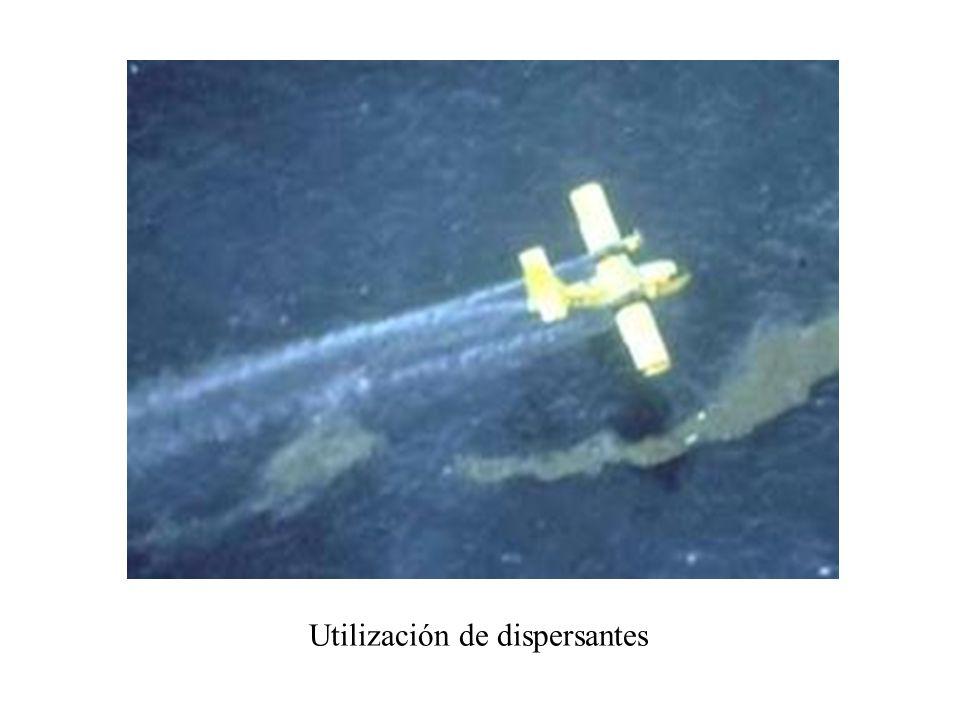 Utilización de dispersantes