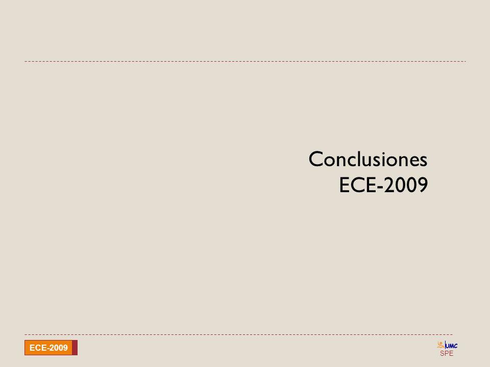 SPE ECE-2009 Conclusiones ECE-2009