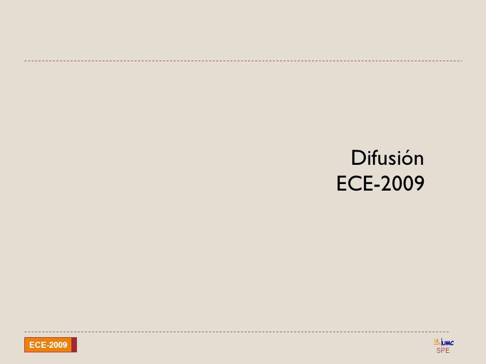 SPE ECE-2009 Difusión ECE-2009