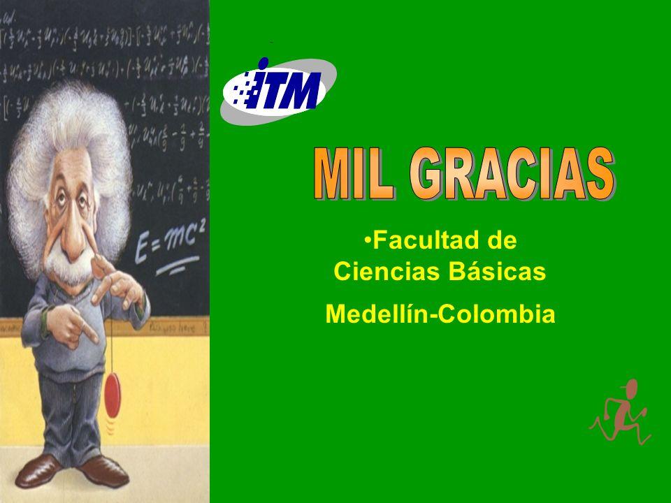 Facultad de Ciencias Básicas Medellín-Colombia