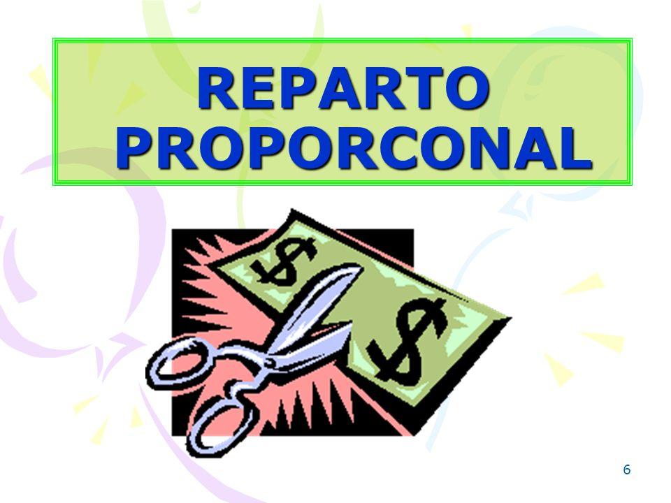 6 REPARTO PROPORCONAL