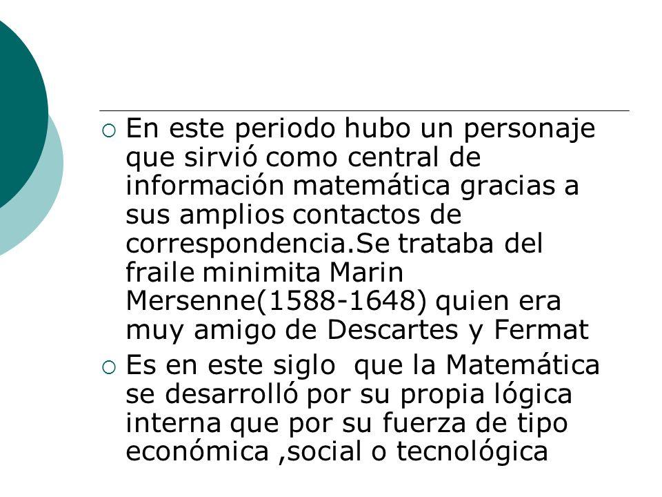 EL ÚLTIMO TEOREMA DE FERMAT Euler dio la demostración para n = 3 Euler Sophie Germain decía que para todos los números primos menores que 100, si existe una solución para el Teorema de Fermat.