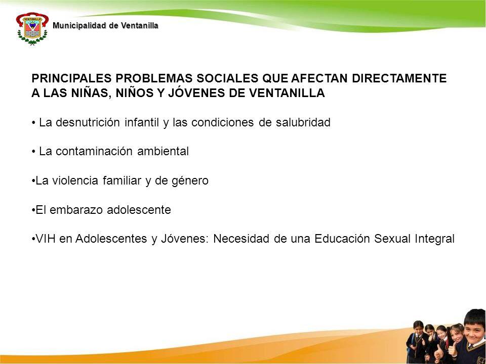Municipalidad de Ventanilla COMPLEMENTANDO EL PEL ESTAMOS CULMINANDO PARTICIPATIVAMENTE LA ELABORACION DE LAS ORIENTACIONES CURRICULARES LOCALES CON LAS PRIORIDADES IDENTIFICADAS EN EL DIAGNOSTICO Con la participación directa de las 95 escuelas del distrito, los 90 directivos y los 2000 docentes 6