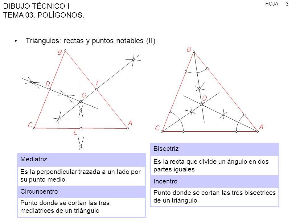 HOJA DIBUJO TÉCNICO I TEMA 03.POLÍGONOS. 24 Polígono de 9 lados, conociendo el lado 1.