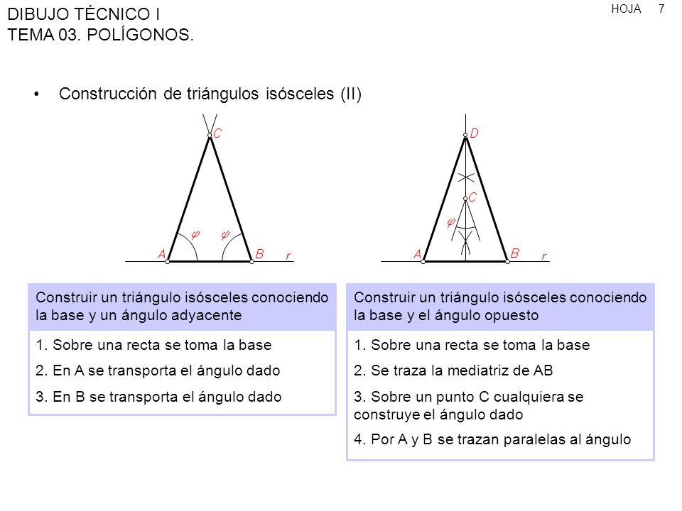 HOJA DIBUJO TÉCNICO I TEMA 03.POLÍGONOS. 28 Polígonos estrellados (I) 1.