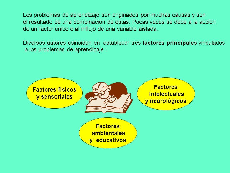 ¿QUÉ SE ENTIENDE POR PROBLEMA DE APRENDIZAJE? Existen variadas formas y concepciones acerca de la definición de lo que son problemas de aprendizaje.Ta
