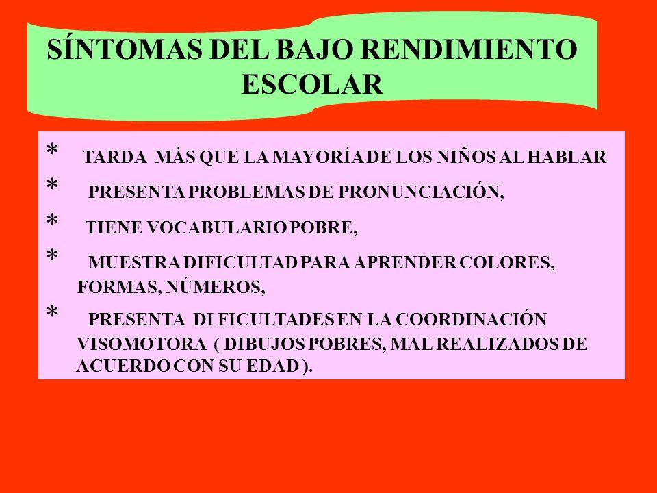 ATENCIÓN ! ! HAY PROBLEMAS PROPIOS DEL PROCESO DE ADQUISICIÓN DE LA LECTO ESCRITURA Y EL CÁLCULO : CAMBIOS DE LETRAS, OMITE O AGREGA LETRAS, DIFICULTA