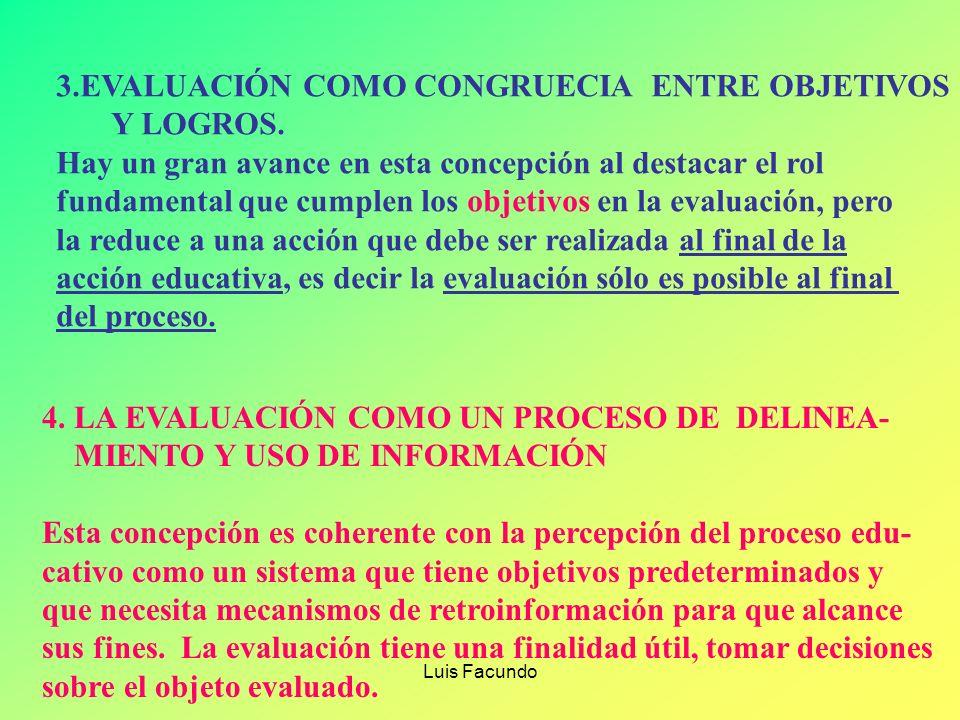 Luis Facundo 1.EVALUACIÓN COMO JUICIO DE EXPERTOS. Es la persona que evalúa que se considera el experto para definir el parámetro de comparación y def