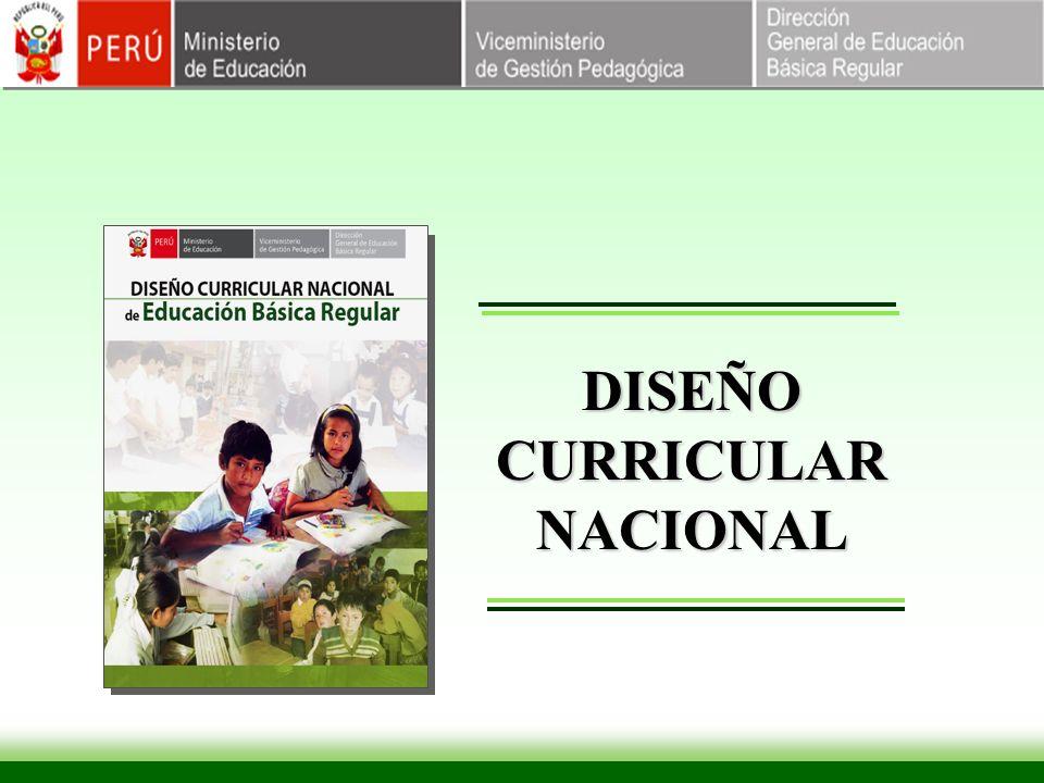 DISEÑO CURRICULAR NACIONAL