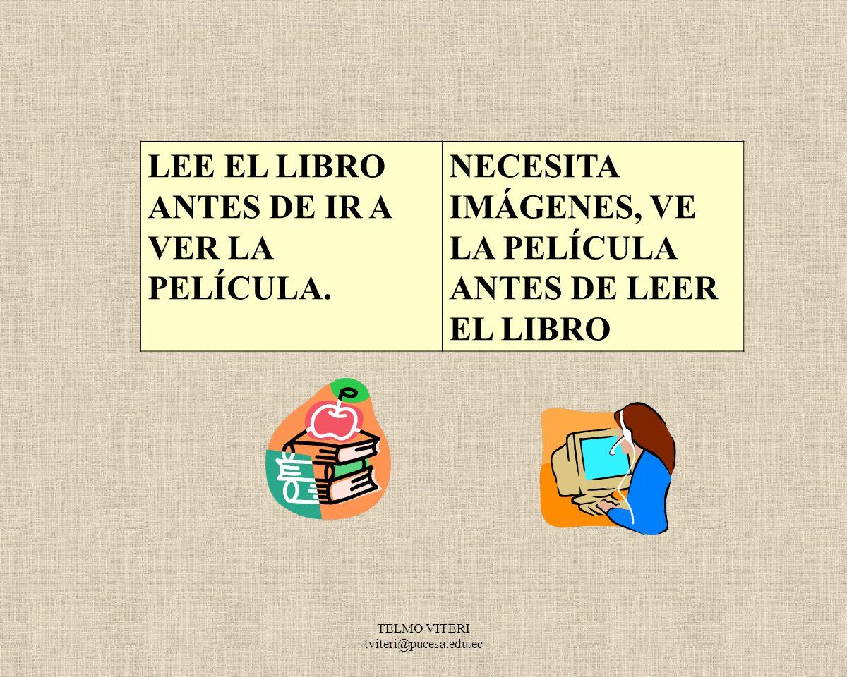 TELMO VITERI tviteri@pucesa.edu.ec LE PREOCUPA EL RESULTADO FINAL.