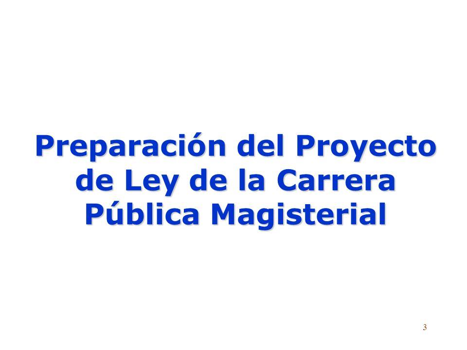 2 2 Leyes del Magisterio desde 1964 13 noviembre 19 64 15 diciembre 1984 23 febrero 1990 2001-2007 29 enero 1980 Fernando Belaú nde,LeyNº15215, Ley de