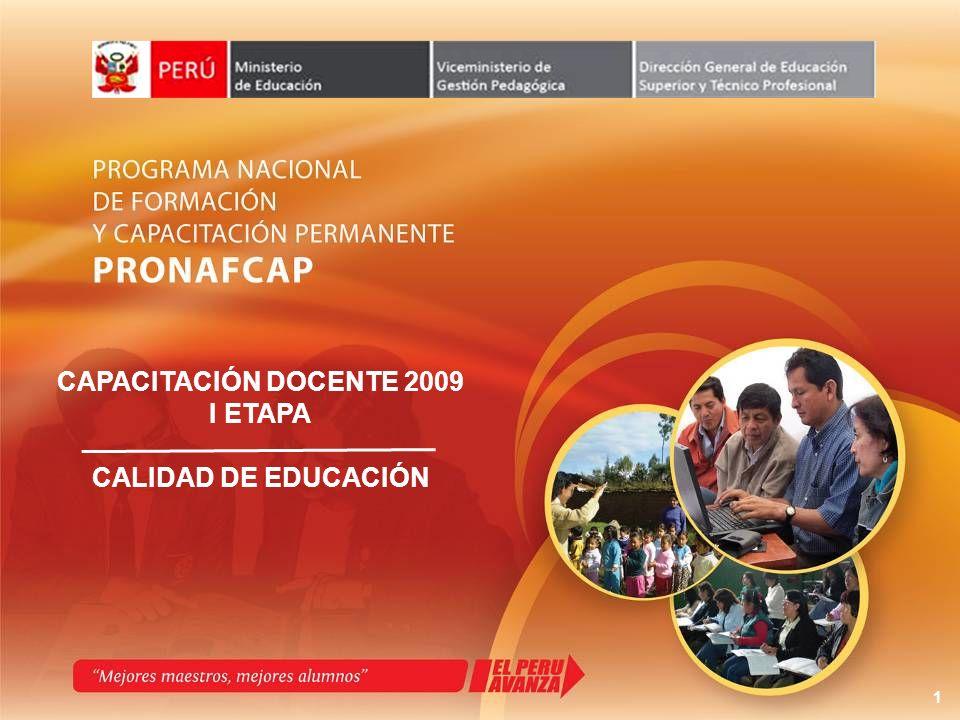 Se conformarán Comisiones de Coordinación encargadas de monitorear el proceso de capacitación docente en cada Región.