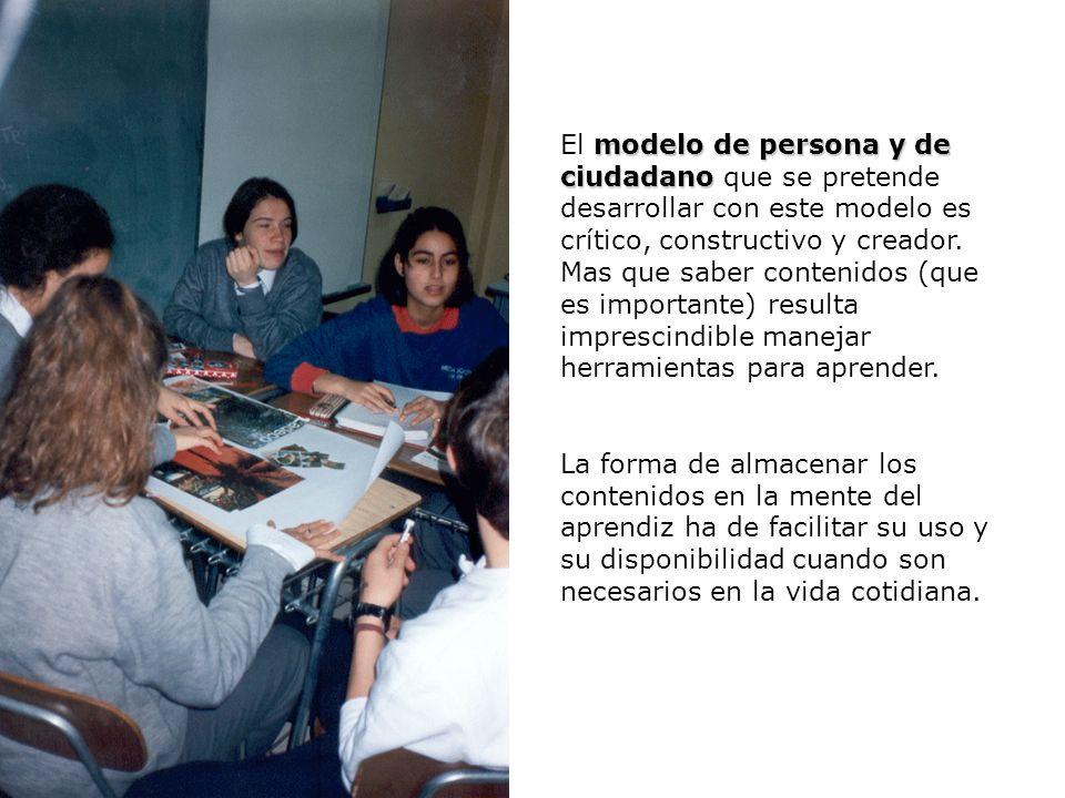 Procesos Neuropsicológicos de Aprendizaje y Modelos Educativos U3 / 28 disciplina La disciplina pasa a un segundo plano, ya que el aprendizaje signifi