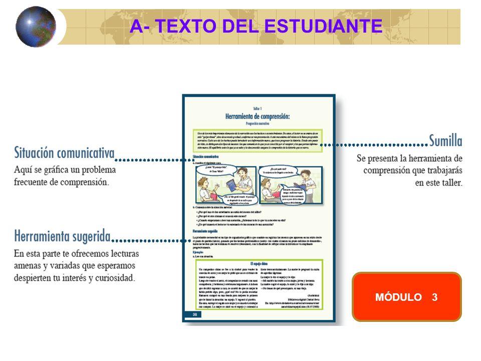 A- TEXTO DEL ESTUDIANTE MÓDULO 3