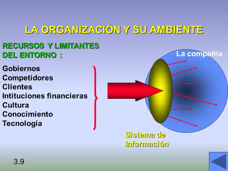 IMPLEMENTANDO CAMBIOS Source: Leavitt, Handbook of Organization (1965)TAREASPERSONASTECNOLOGÍA ESTRUCTURA RESISTENCIA AJUSTE MUTUO 3.20