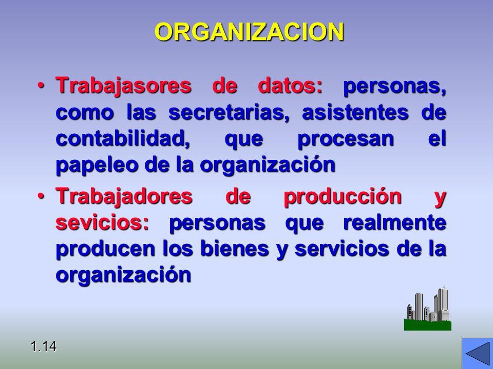 ORGANIZACION Procedimientos operativos estándares (SOP): reglas formales para efectuar tareas, que han sido desarrollados para enfrentar situaciones e