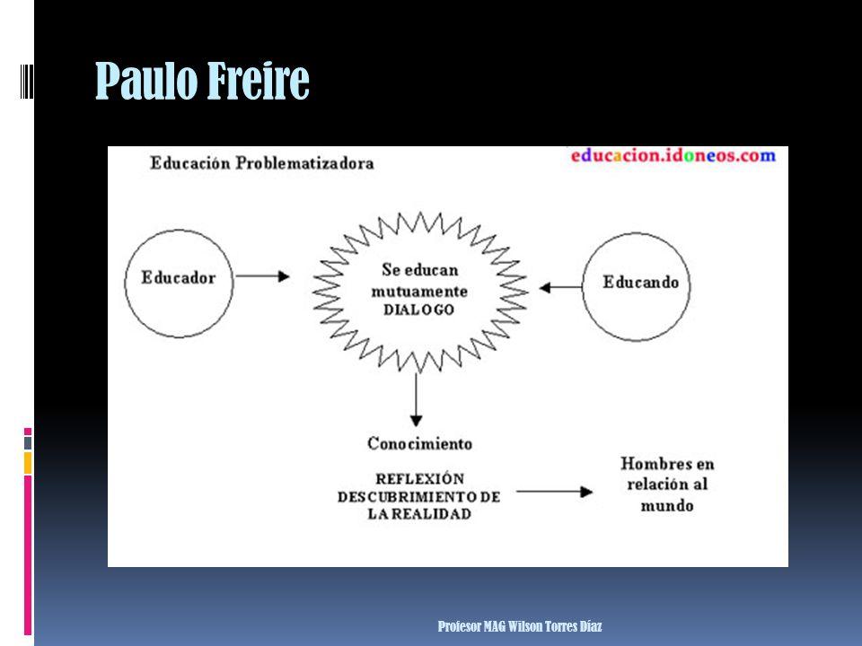 Paulo Freire Profesor MAG Wilson Torres Díaz