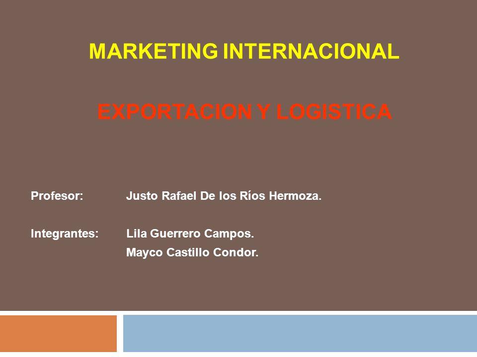 EXPORTACION Y LOGISTICA La exportación es una parte de todo el comercio internacional ya sea una compañía grande o si vende en un país o es un rendidor global.