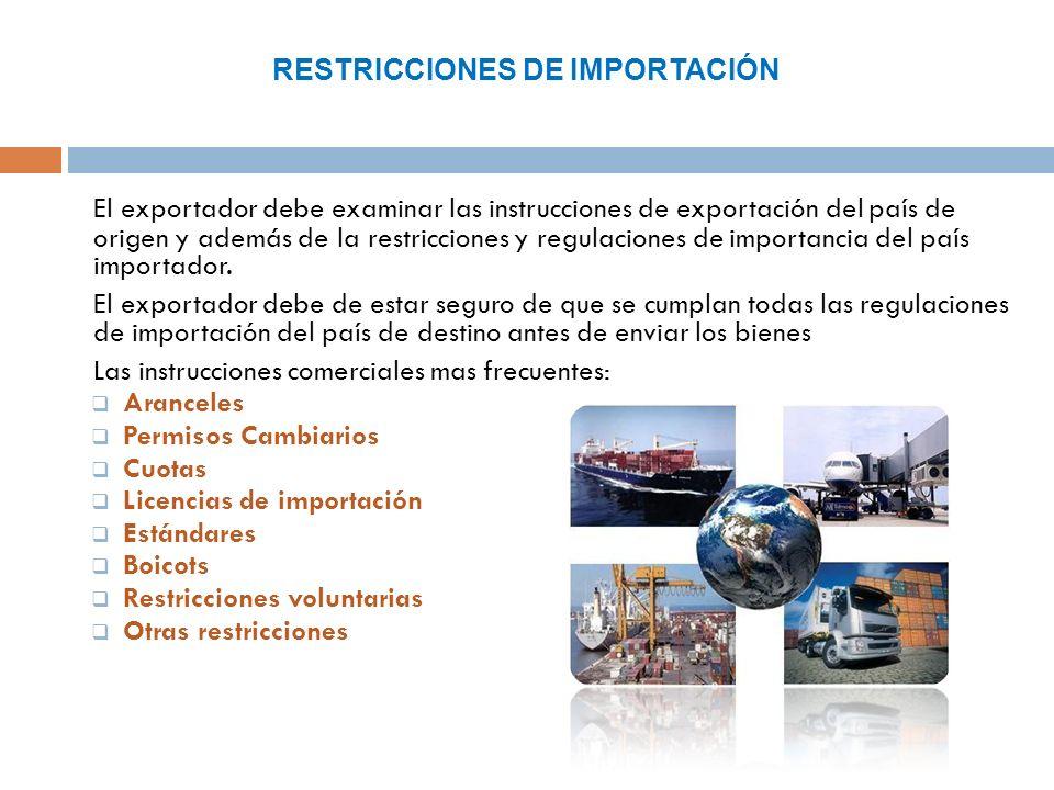 Aracenceles: Son los impuestos o derechos aduanales aplicados a bienes importados de otro país, esto se hace con el propósito de obtener ingresos y proteger la industrias local.