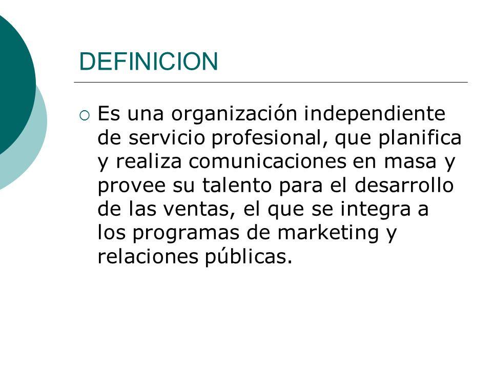 Los servicios de publicidad básicos que ofrecen las agencias son: Servicio de Medios.