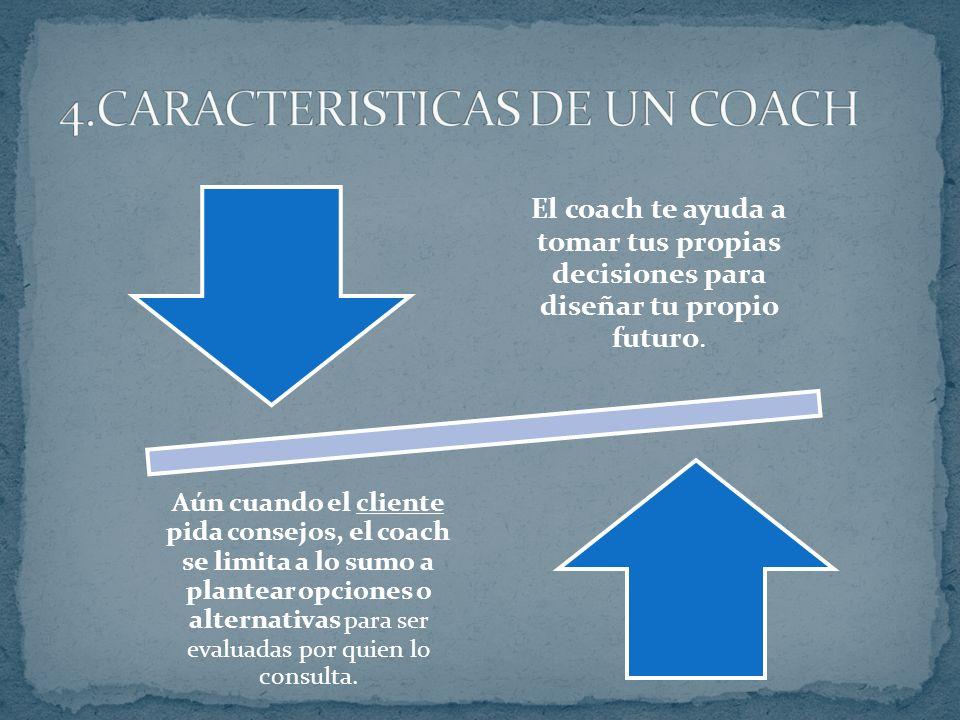 El coach no te dice lo que tienes que hacer. Te ayuda a que descubras tus potencialidades y plasmarlas en acciones concretas.