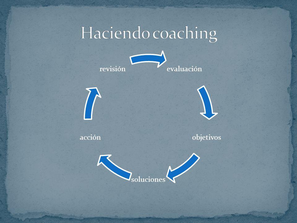 El coaching NO es un proceso psicoterapéutico, aunque sus efectos pueden resultar terapéuticos como efecto secundario.
