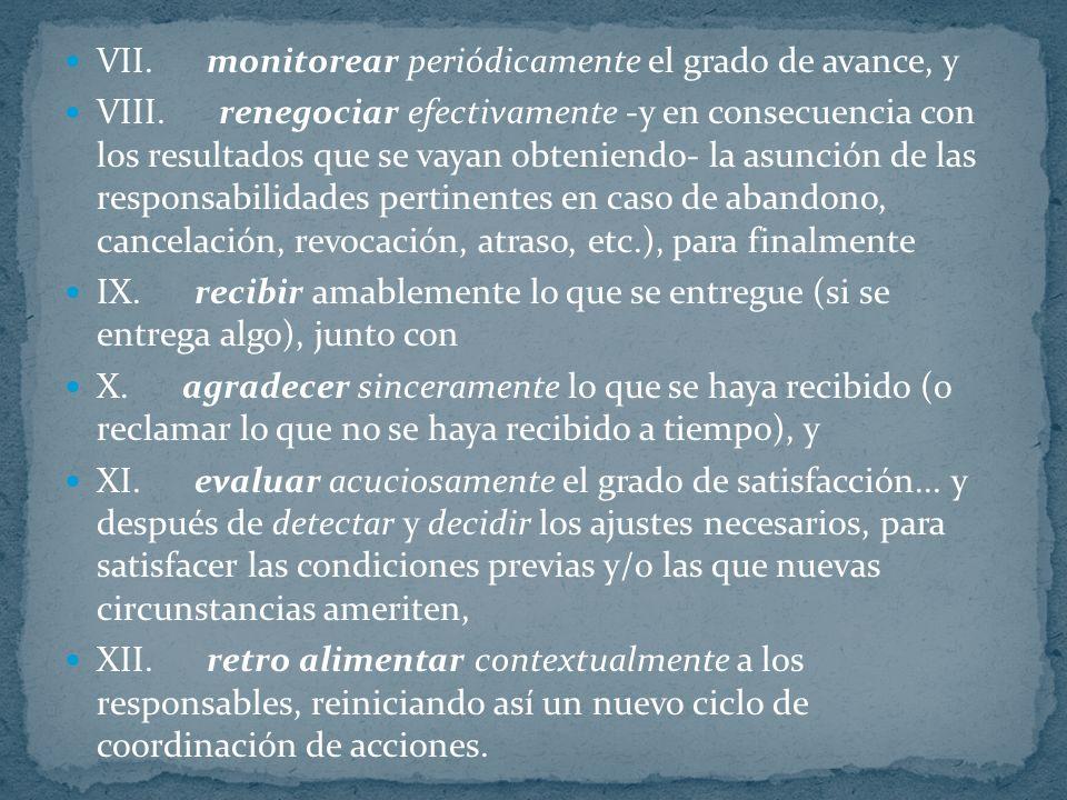 I. detectar anticipadamente las necesidades e inquietudes a satisfacer (con el resultado de las actividades), y II. decidir explícitamente cuáles nece