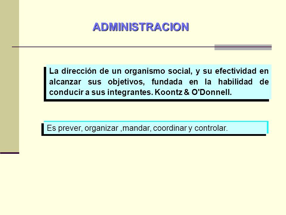 ADMINISTRACION CIENCIA O ARTE En la práctica: La Administración es un arte.